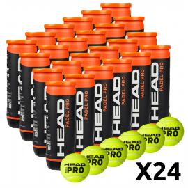 Head Padel Pro Balls (Pack x 24 boat) - Padel tennis Shop