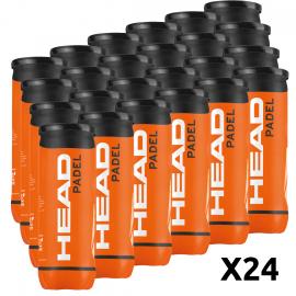 Cajón Pelotas Head Padel (Pack x 24 botes) - Tienda padel