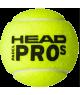 Head Padel Pro S Balls (Pack x 24 boat) - Padel tennis Shop