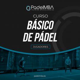 SPANISH COURSE: Pádel Básico PadelMBA - Padel tennis Shop