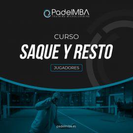 Curso Online Saque y Resto PadelMBA - Tienda padel