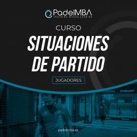 Spanish Course Situaciones de Partido PadelMBA - Padel tennis Shop