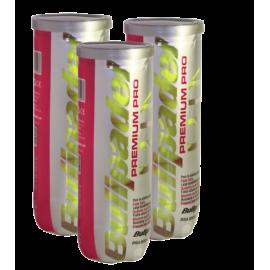 Pelotas Bullpadel Premium Pro (Pack x·3) - Tienda padel