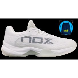 Nox AT10 2021 Shoes White/grey - Padel tennis Shop