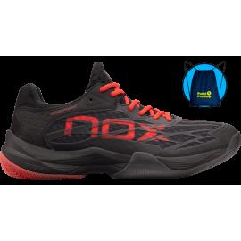 Zapatillas Nox AT10 negro/rojas 2021