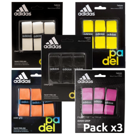 Adidas Overgrip Perforated (Pack x 3) - Padel tennis Shop