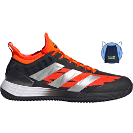Adidas Adizero Ubersonic 4 Clay black and red shoes