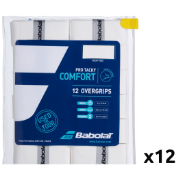 Overgrip Babolat Pro Tacky Comfort (Pack x 12)