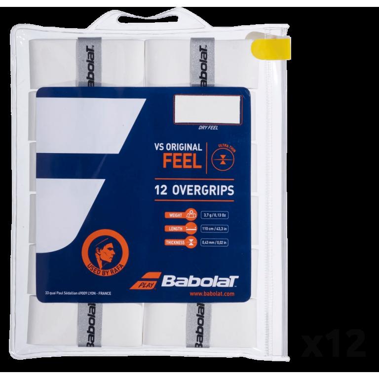 Overgrip Babolat Pro Tacky Feel (Pack x 12) - Padel tennis Shop